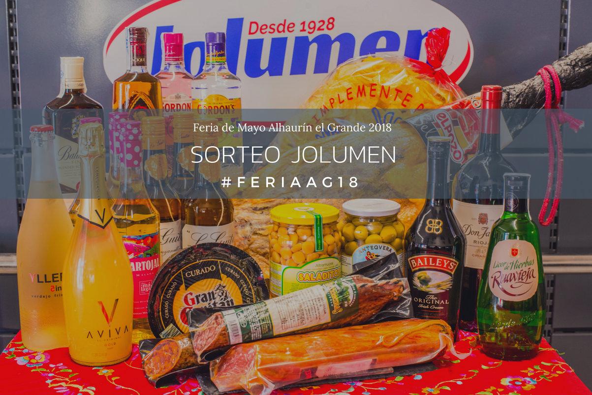 Sorteo cesta JOLUMEN Feria de Mayo Alhaurín el Grande 2018
